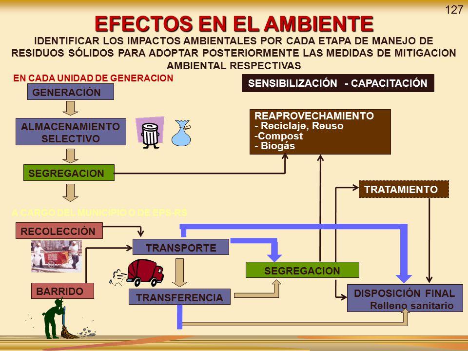EFECTOS EN EL AMBIENTE