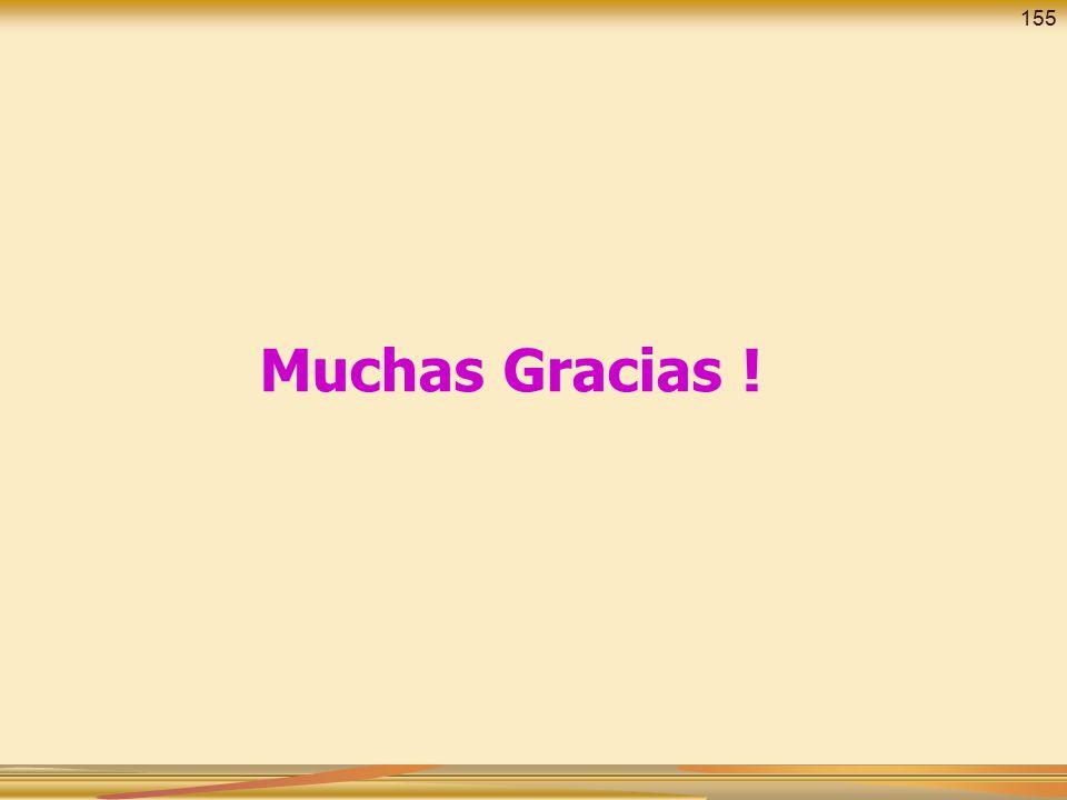 155 Muchas Gracias !