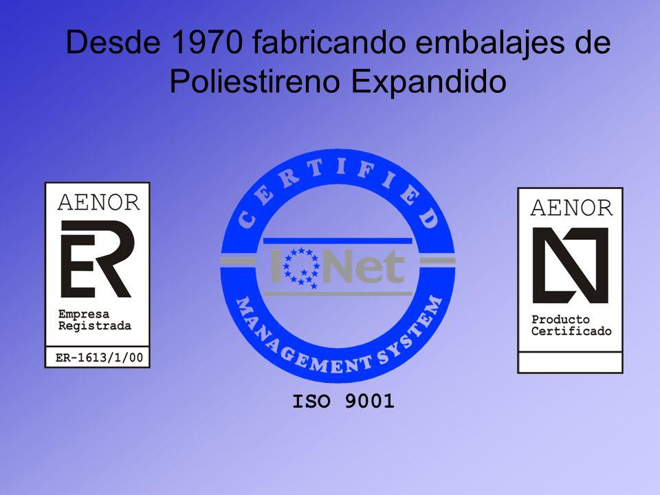 Desde 1970 fabricando embalajes de Poliestireno Expandido
