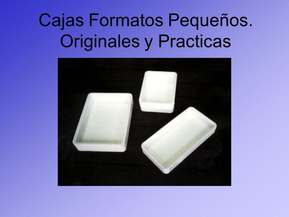 Cajas Formatos Pequeños. Originales y Practicas