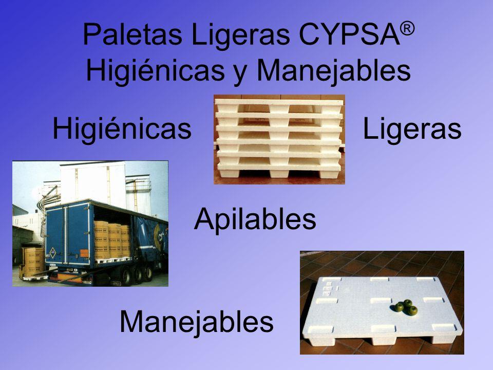 Paletas Ligeras CYPSA® Higiénicas y Manejables