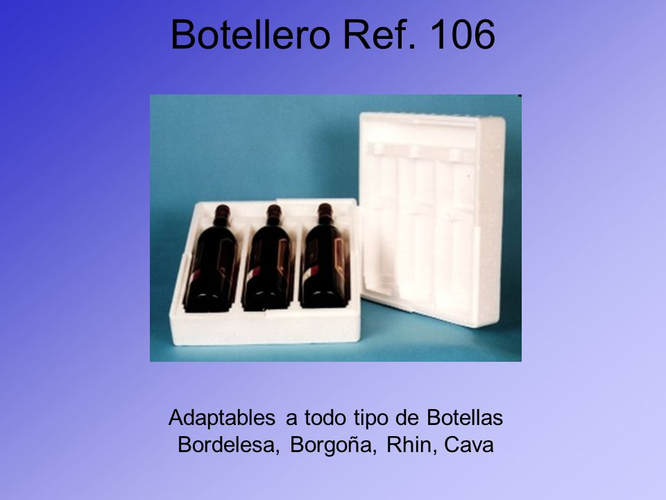 Botellero Ref. 106 Adaptables a todo tipo de Botellas