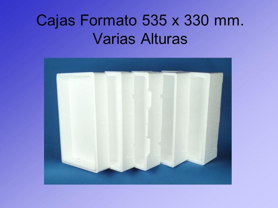 Cajas Formato 535 x 330 mm. Varias Alturas