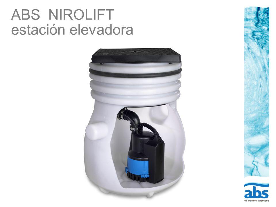 ABS NIROLIFT estación elevadora