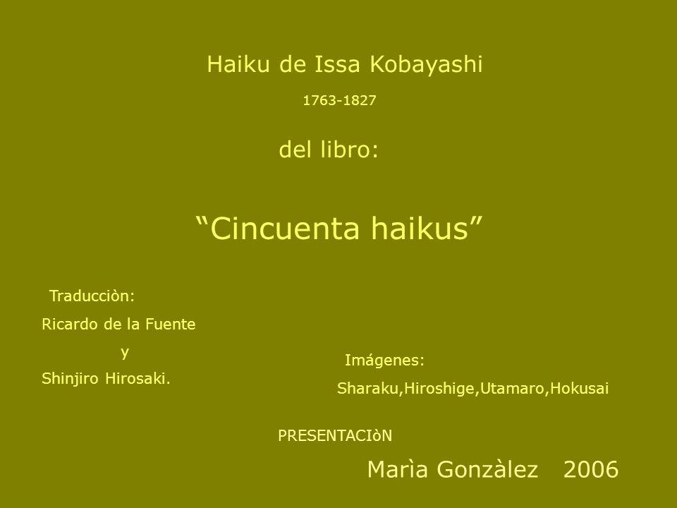 Haiku de Issa Kobayashi