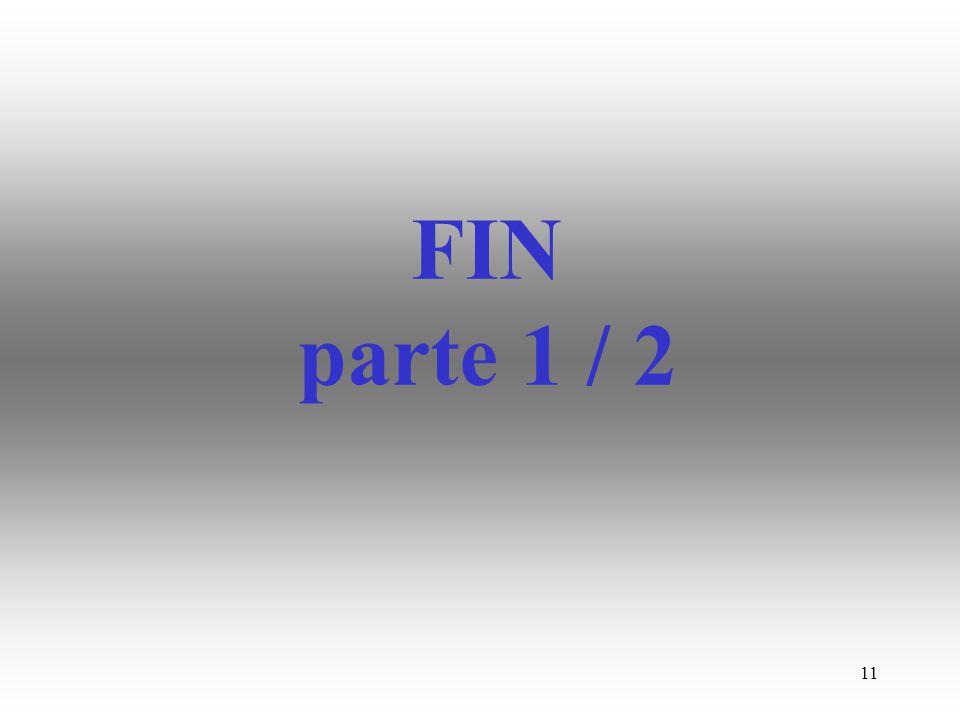 FIN parte 1 / 2