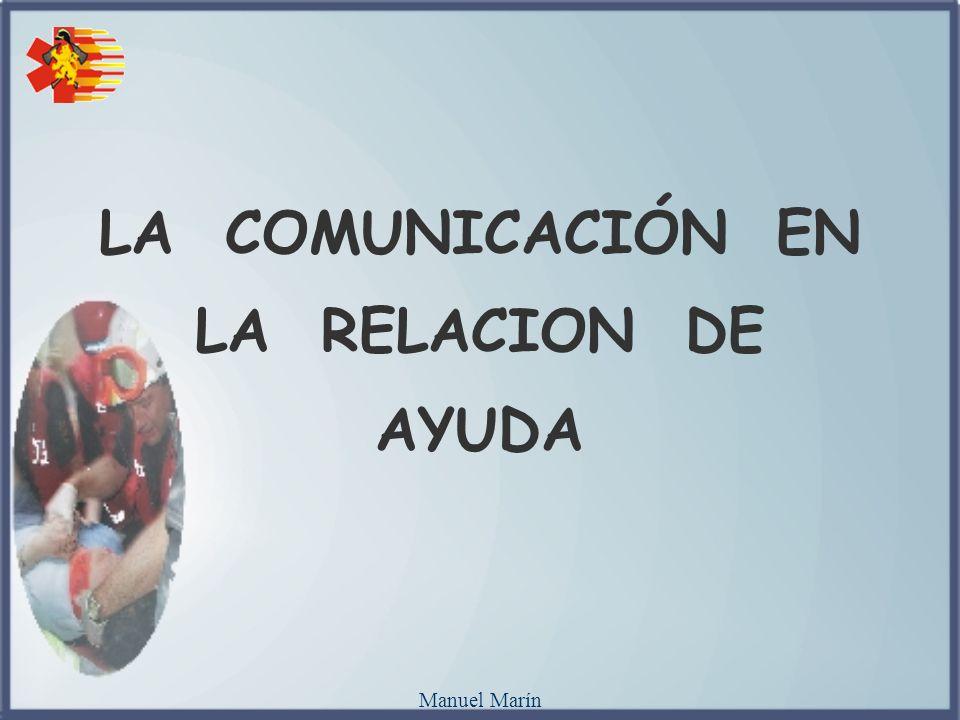 LA COMUNICACIÓN EN LA RELACION DE AYUDA