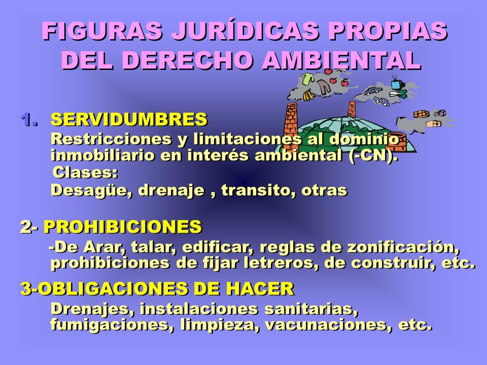 FIGURAS JURÍDICAS PROPIAS DEL DERECHO AMBIENTAL