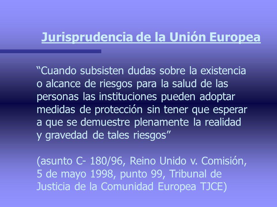Jurisprudencia de la Unión Europea