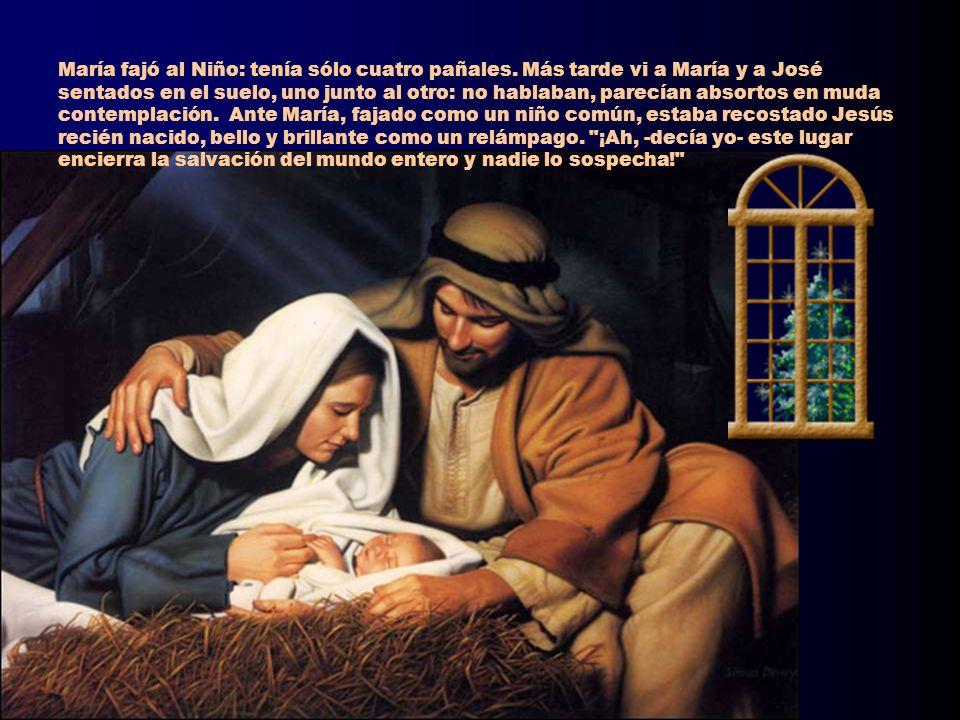 María fajó al Niño: tenía sólo cuatro pañales