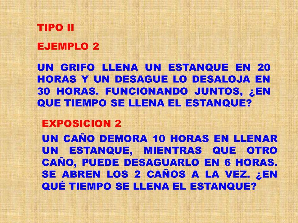 TIPO II EJEMPLO 2.