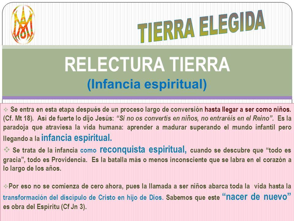 RELECTURA TIERRA (Infancia espiritual)