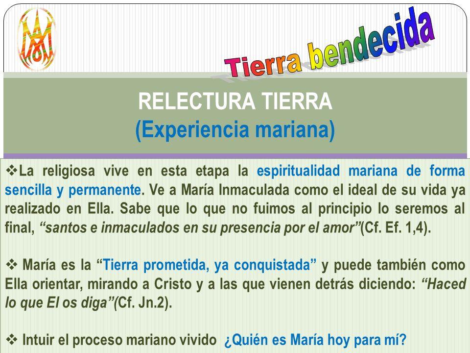 RELECTURA TIERRA (Experiencia mariana)