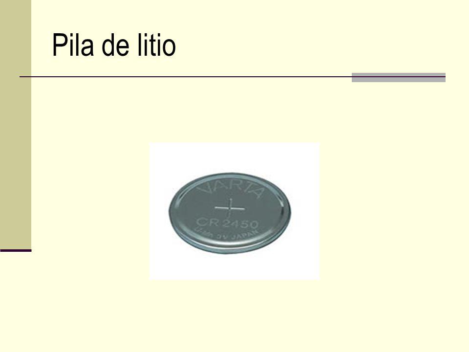 Pila de litio