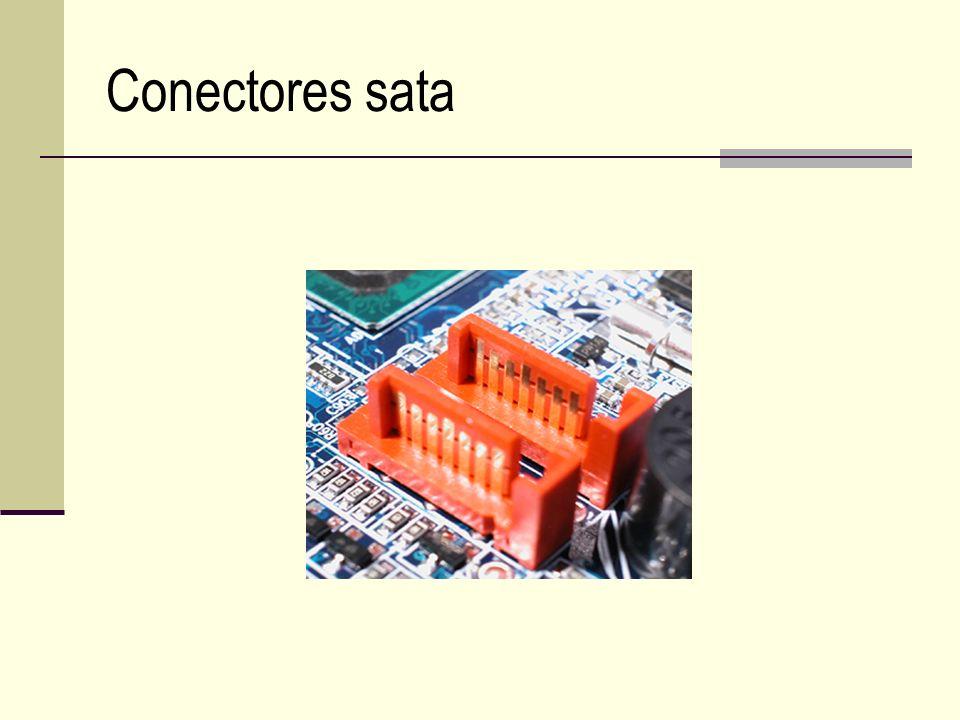 Conectores sata