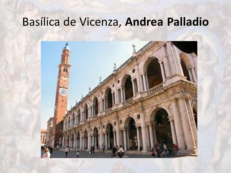 Basílica de Vicenza, Andrea Palladio
