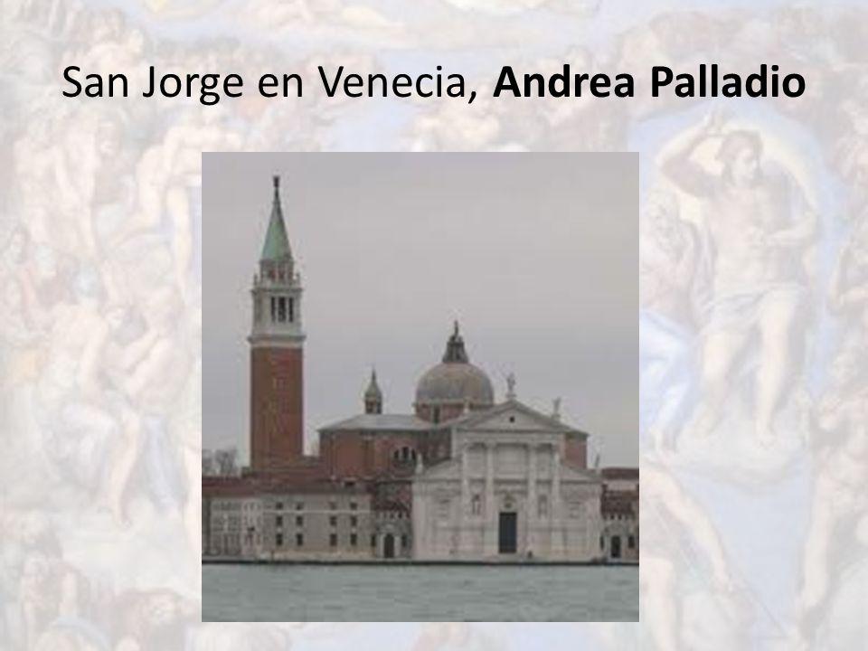 San Jorge en Venecia, Andrea Palladio