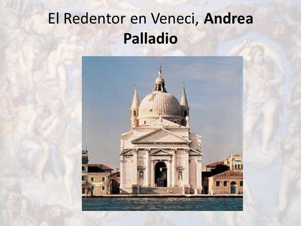 El Redentor en Veneci, Andrea Palladio