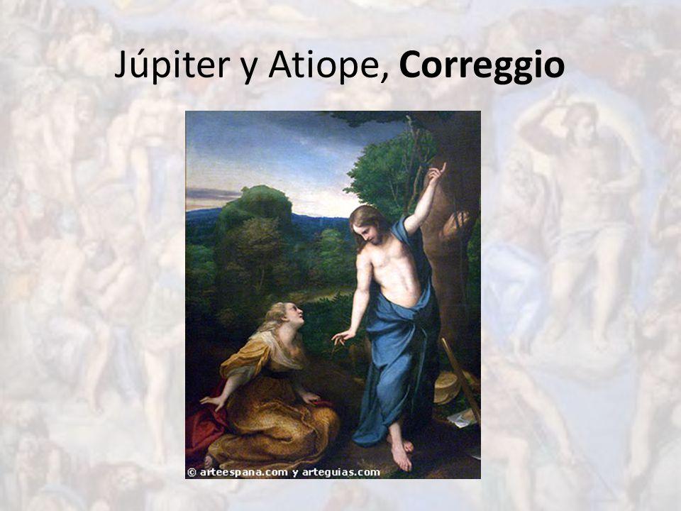 Júpiter y Atiope, Correggio