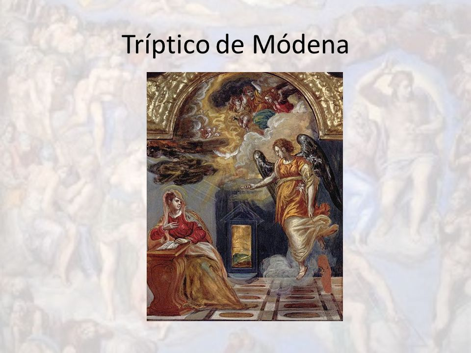Tríptico de Módena