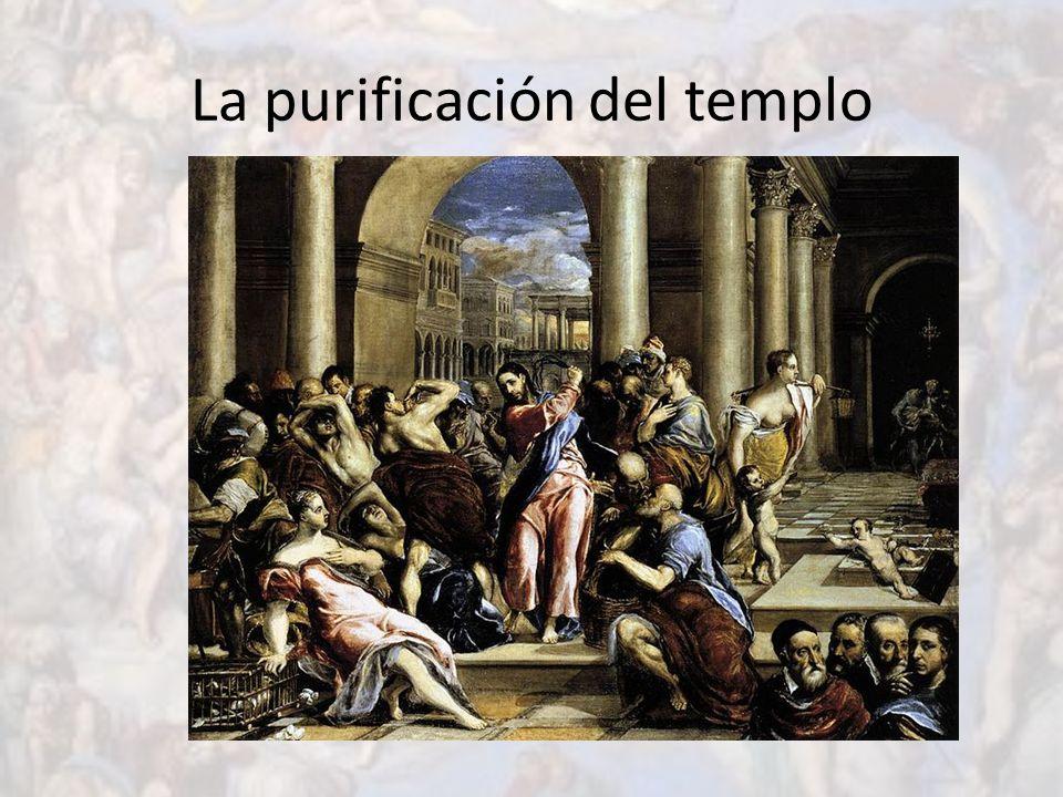 La purificación del templo