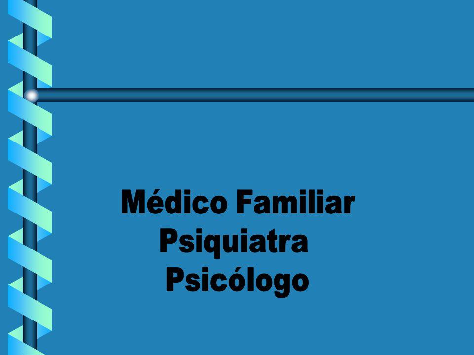 Médico Familiar Psiquiatra Psicólogo