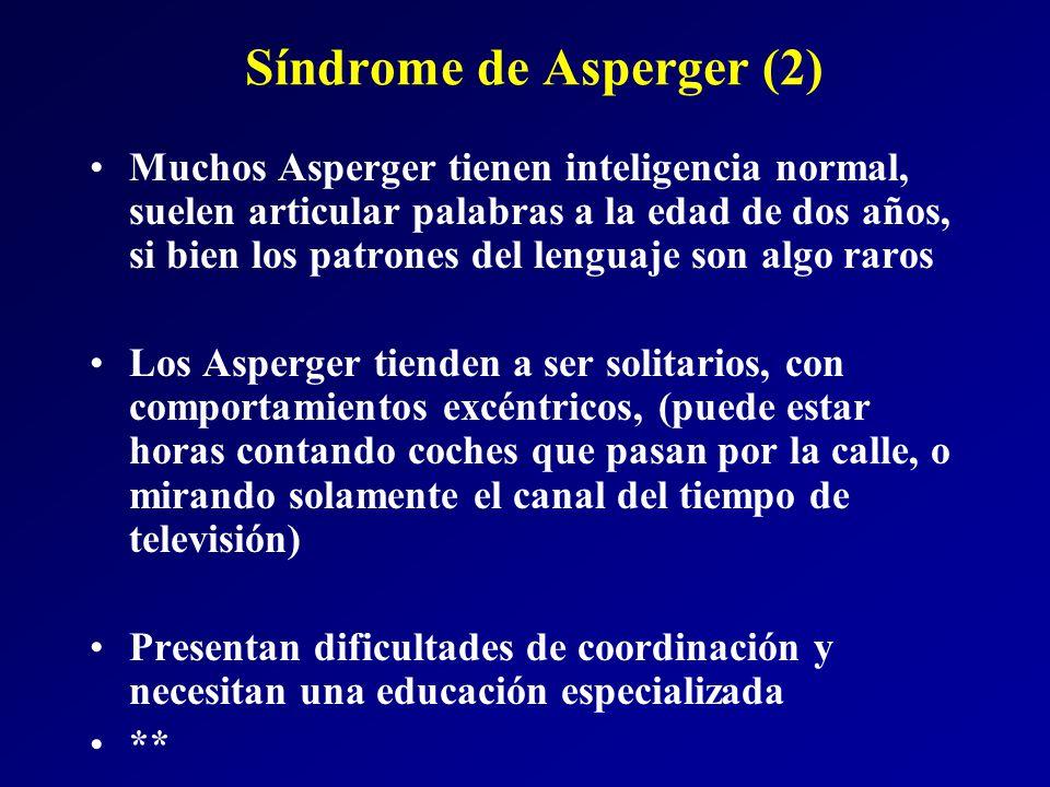 Síndrome de Asperger (2)
