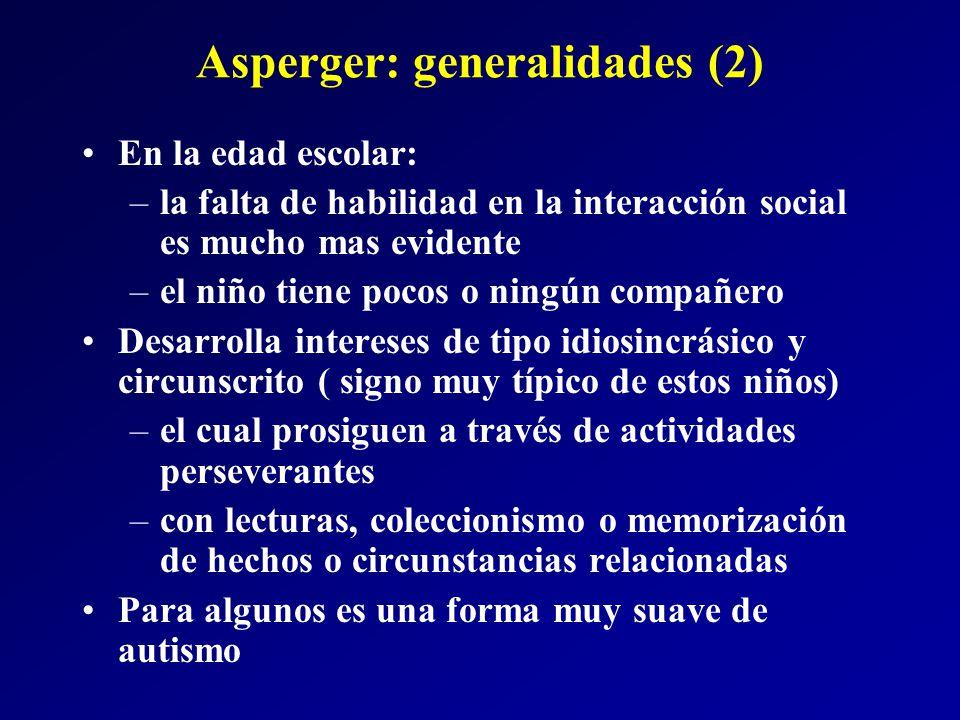 Asperger: generalidades (2)