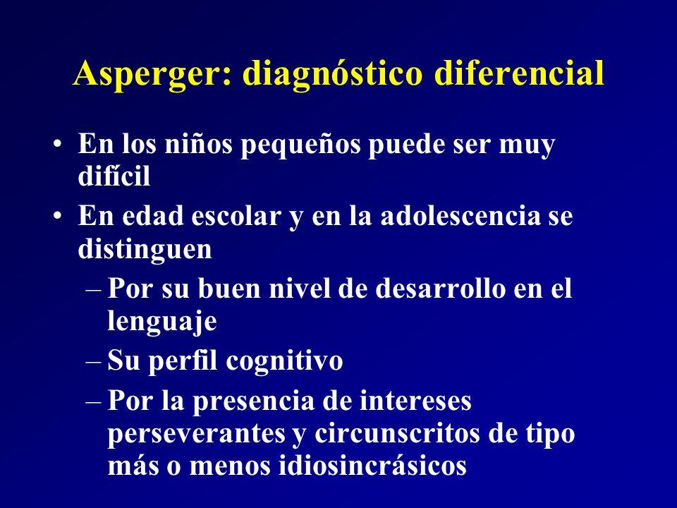 Asperger: diagnóstico diferencial