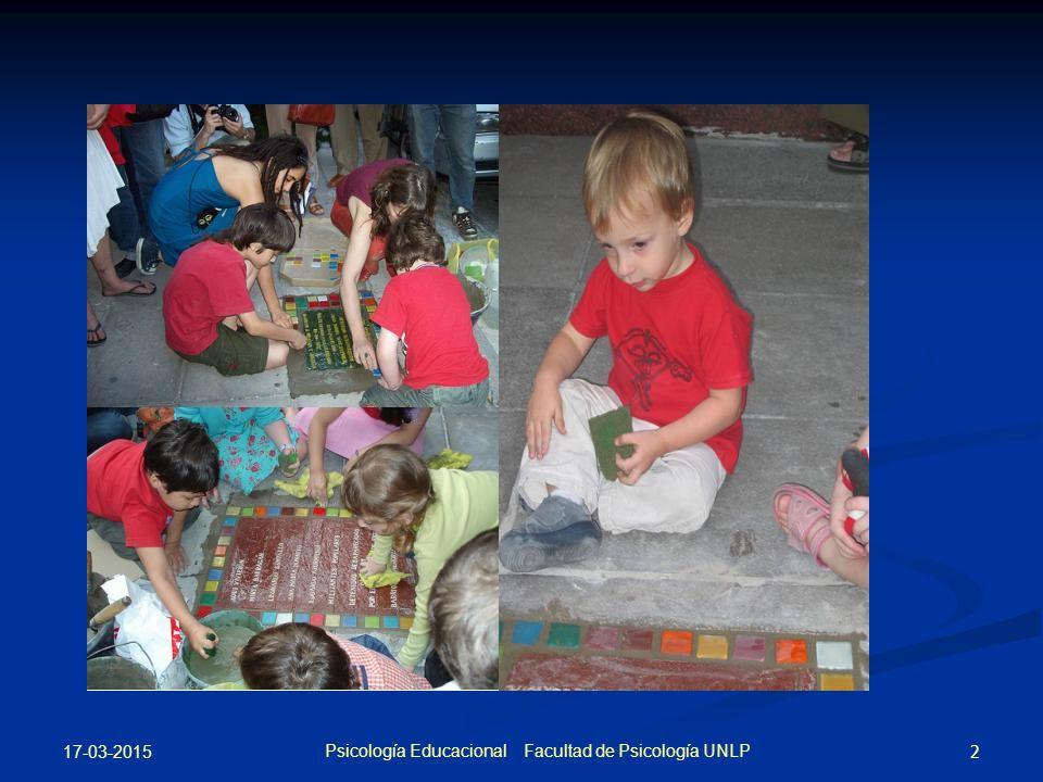 Psicología Educacional Facultad de Psicología UNLP