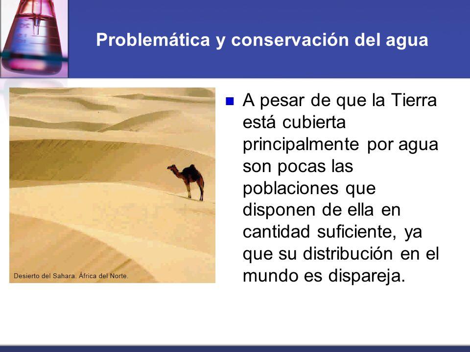Problemática y conservación del agua
