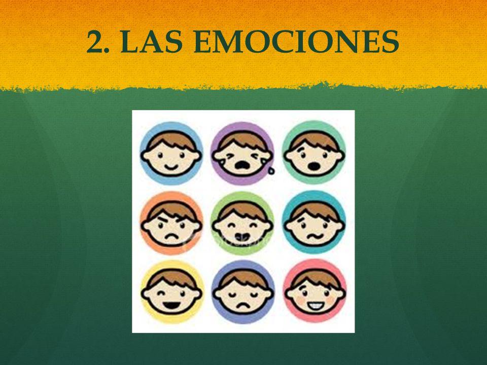 2. LAS EMOCIONES