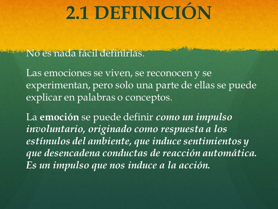 2.1 DEFINICIÓN