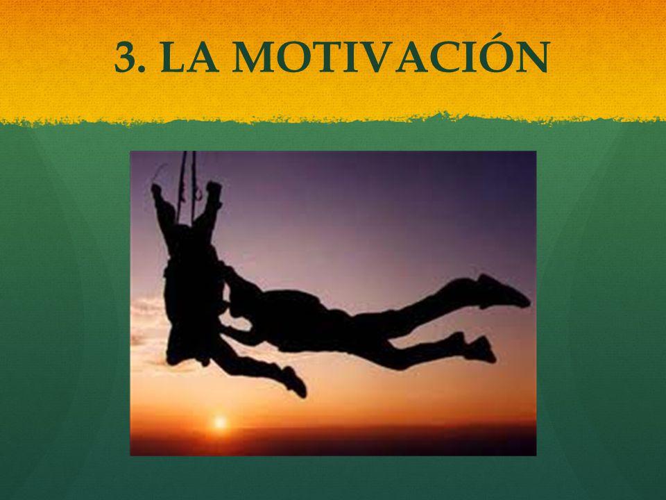 3. LA MOTIVACIÓN