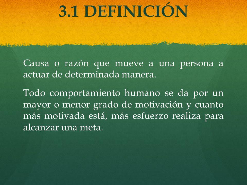 3.1 DEFINICIÓN