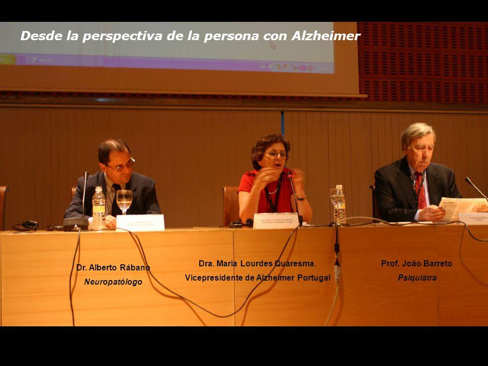 Desde la perspectiva de la persona con Alzheimer