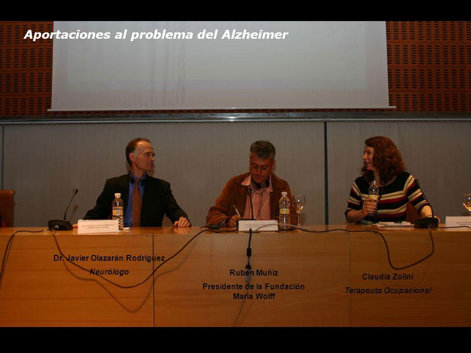 Aportaciones al problema del Alzheimer