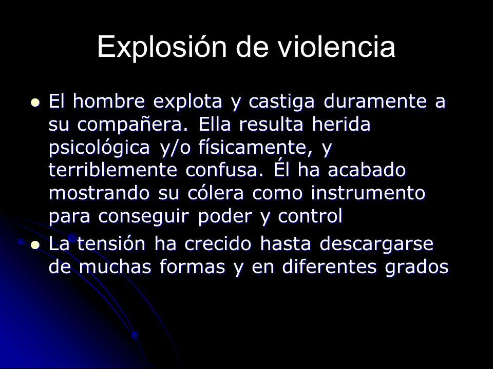 Explosión de violencia