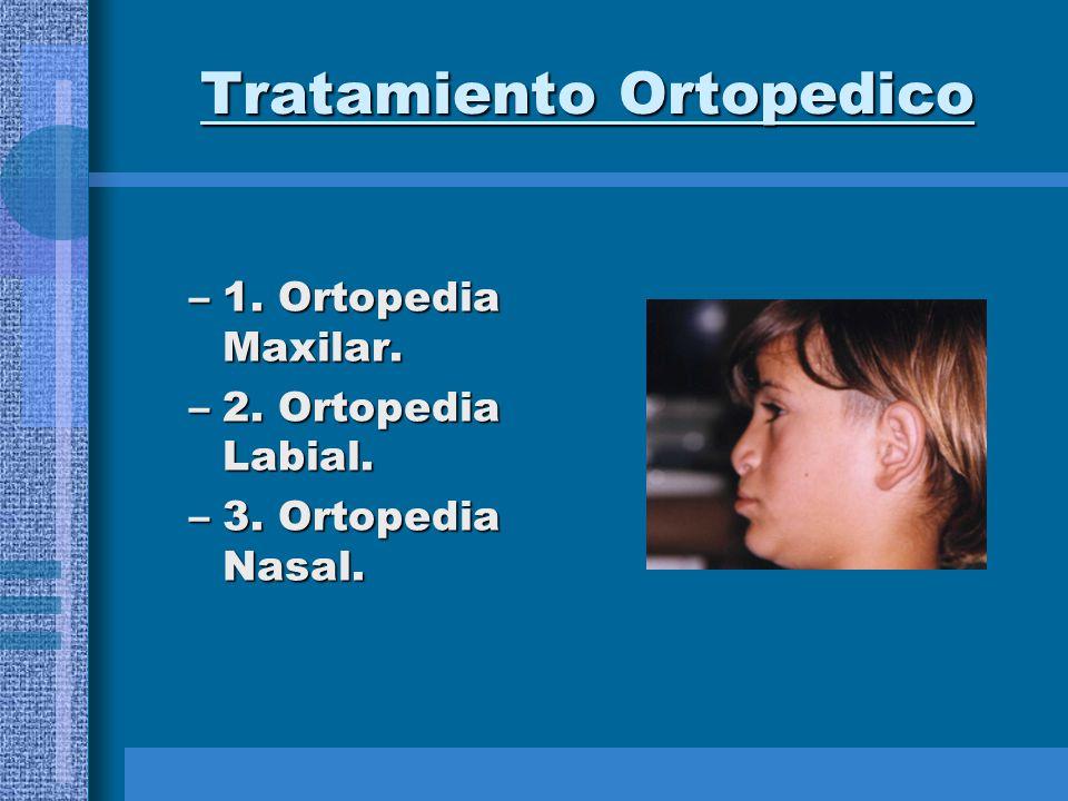 Tratamiento Ortopedico