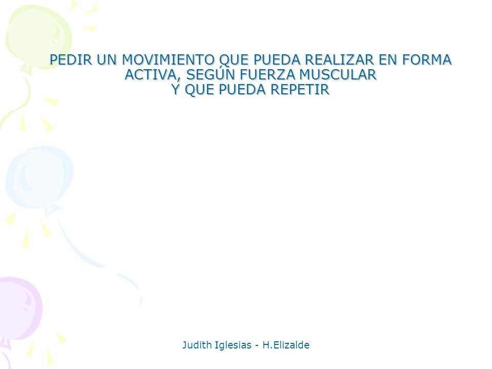 Judith Iglesias - H.Elizalde