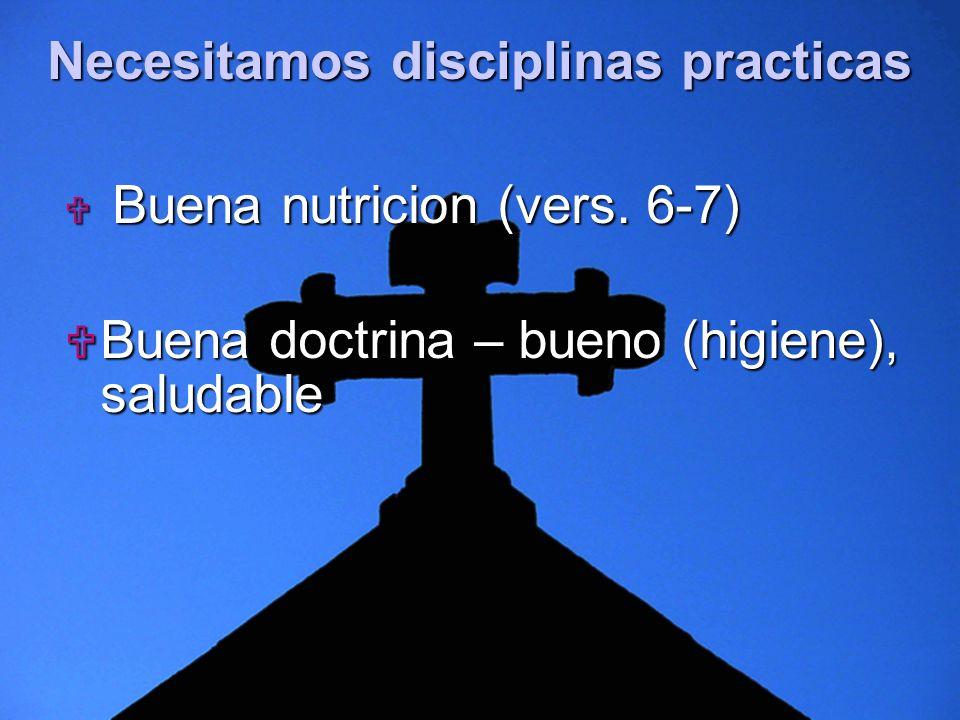 Necesitamos disciplinas practicas