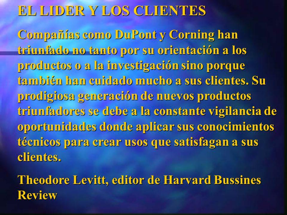 EL LIDER Y LOS CLIENTES