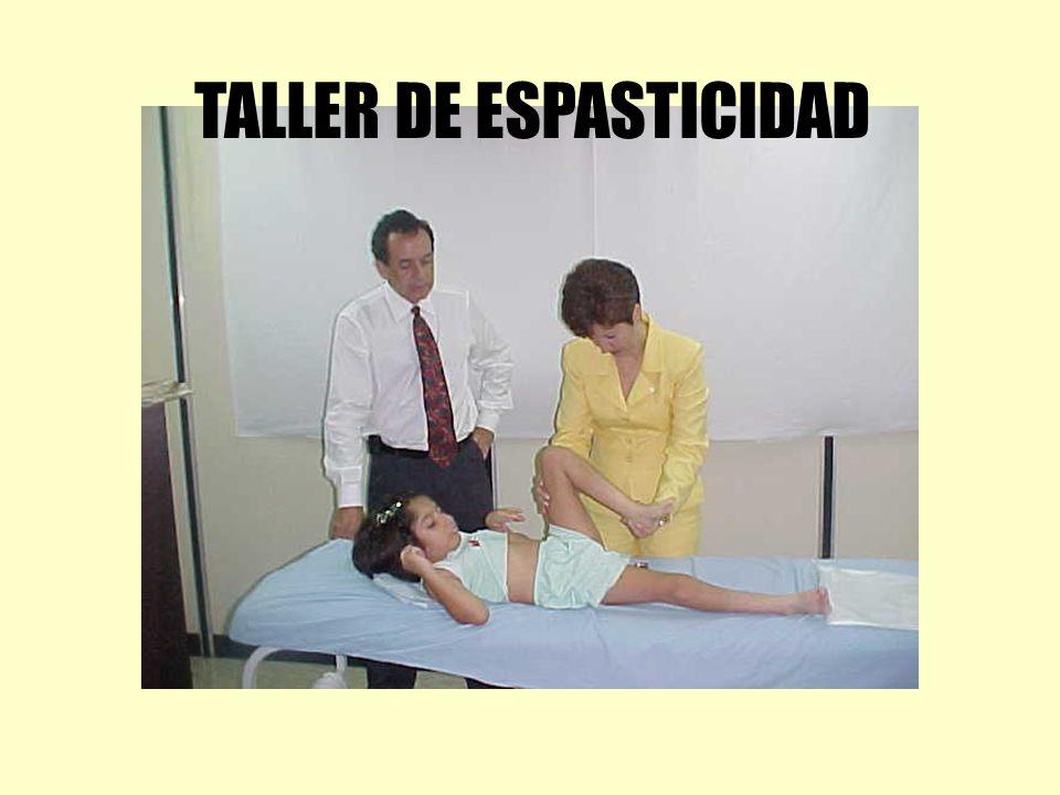 TALLER DE ESPASTICIDAD