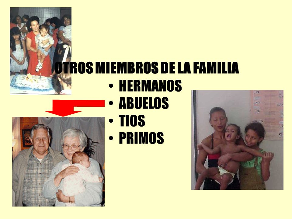 OTROS MIEMBROS DE LA FAMILIA