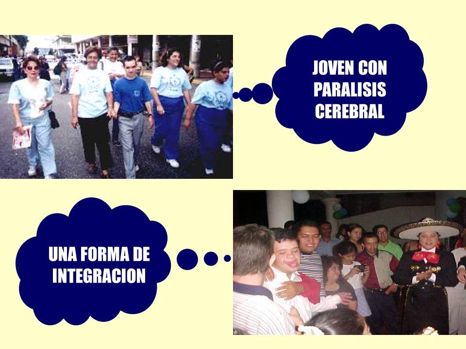 JOVEN CON PARALISIS CEREBRAL UNA FORMA DE INTEGRACION