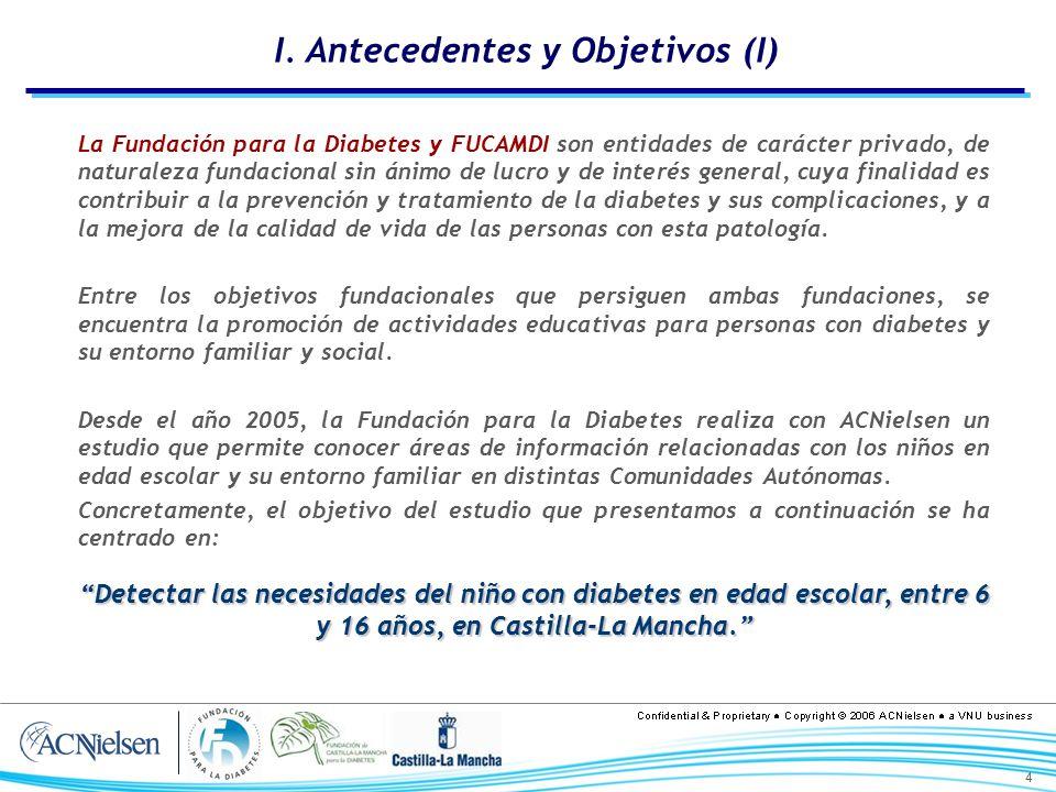 I. Antecedentes y Objetivos (I)