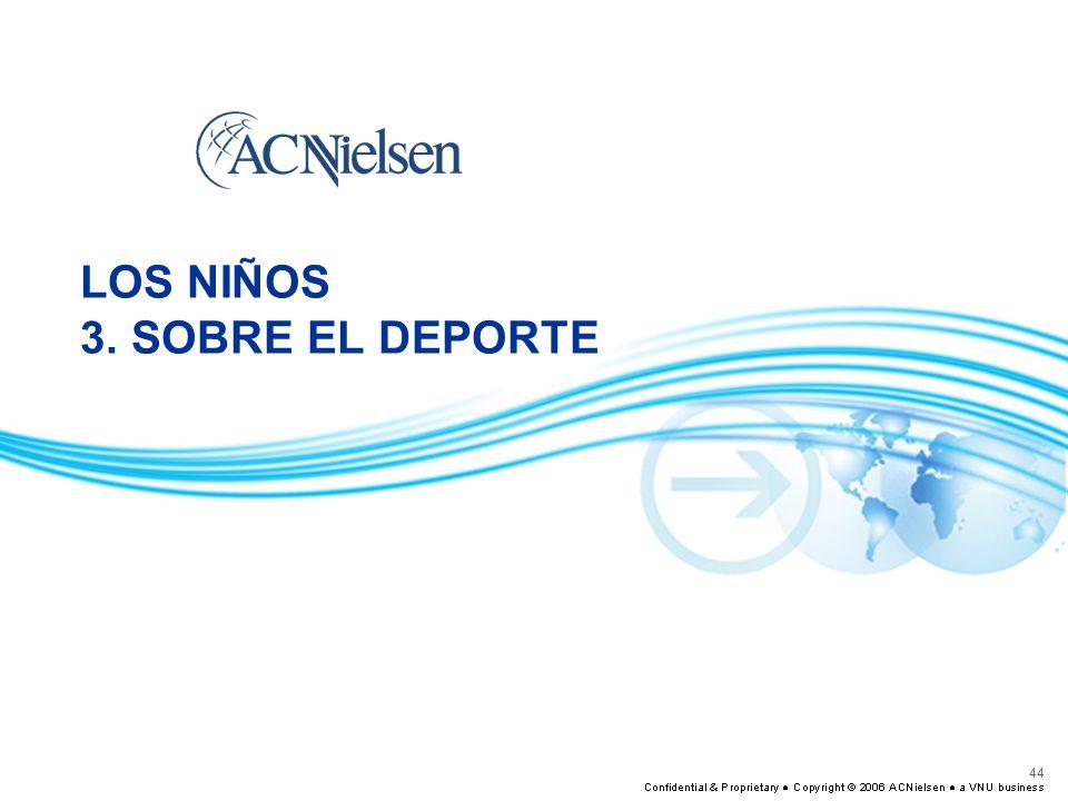 LOS NIÑOS 3. SOBRE EL DEPORTE