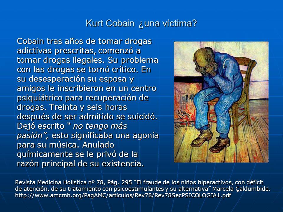 Kurt Cobain ¿una víctima