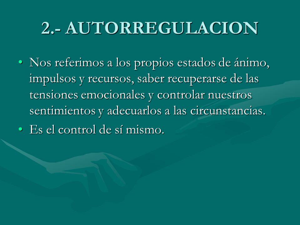 2.- AUTORREGULACION