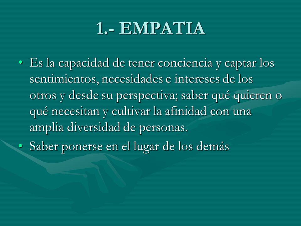 1.- EMPATIA